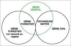 Fig. 2 -Étendue du génie végétal et des domaines associés.